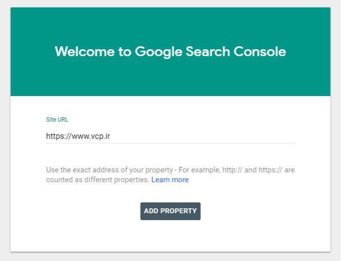 آموزش اتصال به Search Console