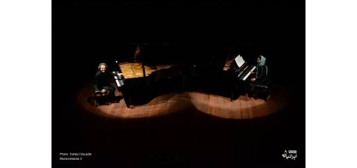 گزارش تصویری «موسیقی ایرانیان» از دوئت پیانو «شهرداد روحانی» در گرگان