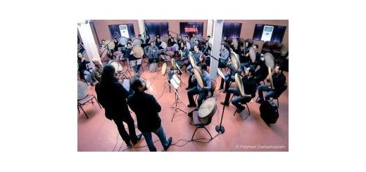 با خضور حدود چهل تن از اساتید و نوازندگان حرفهای دف نواز گروه دفنوازان جم تشکیل شد