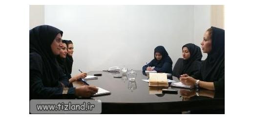 برگزاری جلسه گزارش دهی مسئولان سرزمین تیزهوش ها