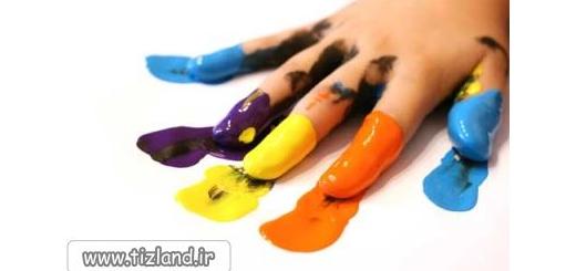 پرینت بگیرید و رنگ کنید