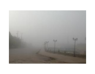 عکس/ مه گرفتگی شدید در جویم