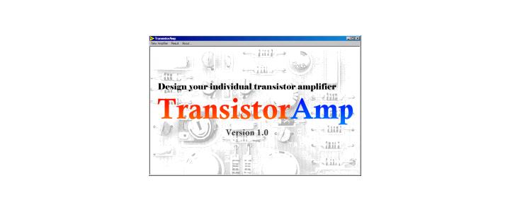 نرم افزارحرفه ای طراحی تقویت کننده های ترانزیستوری