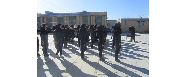 دوره عملی مرحله دوم درس آمادگی دفاعی در فسا برگزار شد