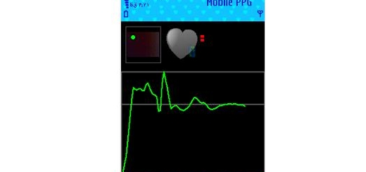 کنترل ضربان قلب با Biophotonics Mobile PPG v1.2 برای نوکیا سری ۶۰ ورژن