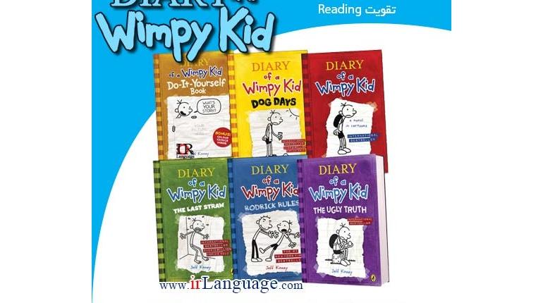 دانلود سری کتاب های داستان Diary of A Wimpy Kid