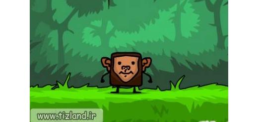 بازی آنلاین میمون مکعبی