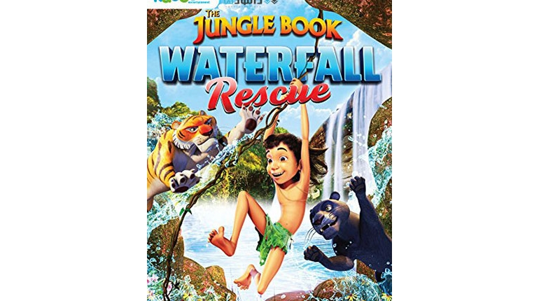 دانلود انیمیشن The Jungle Book Waterfall Rescue 2015