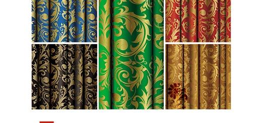 دانلود پترن های تزیینی طلایی
