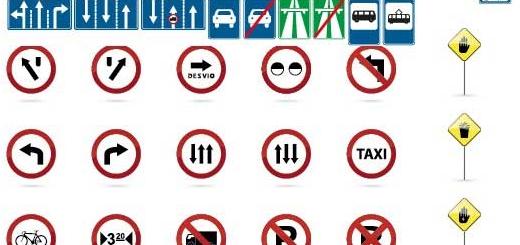 دانلود مجموعه کامل وکتور های ترافیکی و رانندگی