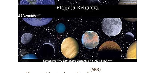 مجموعه براش های سیاره