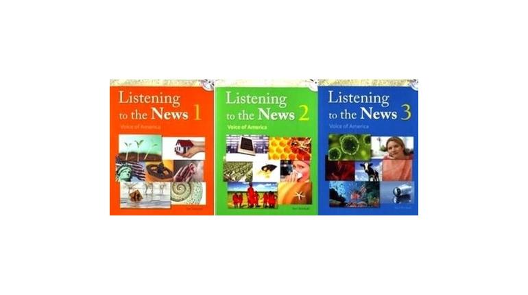 دانلود سری کتاب های تقویت مهارت شنیداری با اخبار Listening to the News