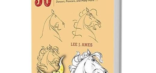 دانلود کتاب آموزش نقاشی ۵۰ نوع اسب با مداد