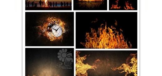 دانلود تصاویر با کیفیت قدرت آتش، شعله آتش