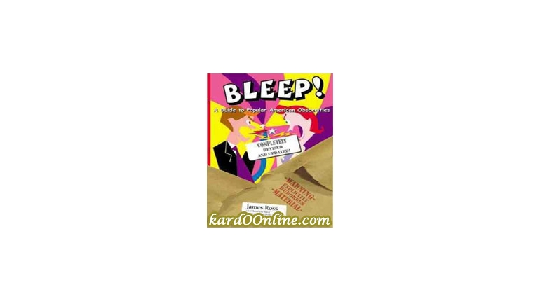 Bleep!: A Guide to Popular American Obscenities