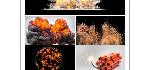 دانلود تصاویر با کیفیت انفجار، مواد منفجره، بمب و ...