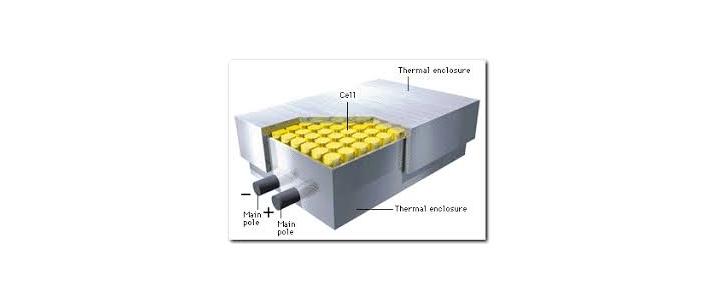 استفاده از باتریهای سولفور ـ سدیم (NAS) با چگالی انرژی بالا برای ذخیرهسازی انرژی الکتریکی