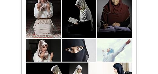 دانلود تصاویر با کیفیت دخترهای مسلمان و حجاب