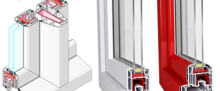 در پنجره دو سه جداره upvc باکیفیت