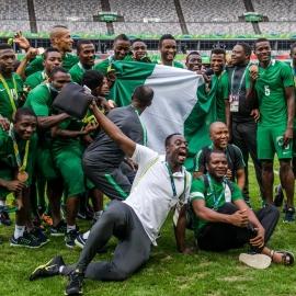 نیجریه اولین تیمی که سه مدال متفاوت المپیک را کسب کرد
