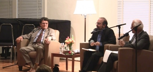 مصاحبه ی تصویری با استاد شجریان قبل از کنسرت با گروه شهناز