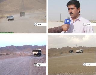 پروژه کمربندی روستای منصورآباد از توابع بخش جویم