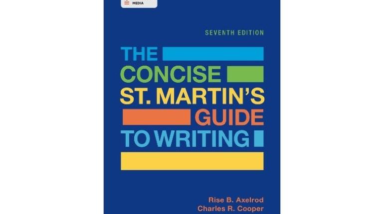 دانلود کتاب آموزش نگارش زبان انگلیسی The Concise St. Martin's Guide to Writing