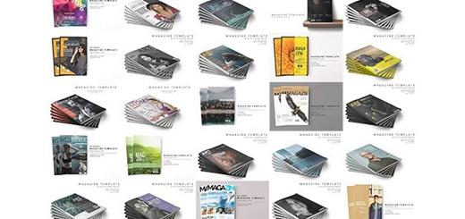 دانلود بیش از 2000 قالب لایه باز مجله های تبلیغاتی متنوع