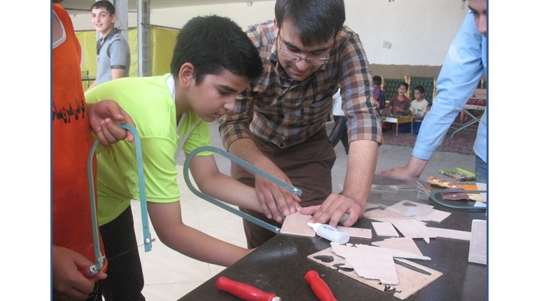 گزارشی از کلاس های آموزشی کار با چوب