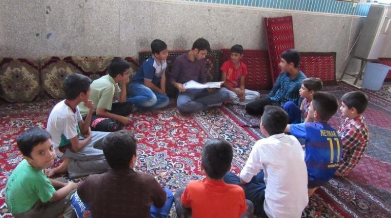 گزارش تصویری اولین جلسه کلاس حفظ قرآن