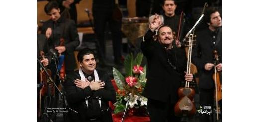 با همراهی ارکستر «وزیری»«سالار عقیلی» باز هم برای وطن خواند