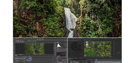 دانلود آموزش ایجاد سینماگراف و Plotagraph در فتوشاپ
