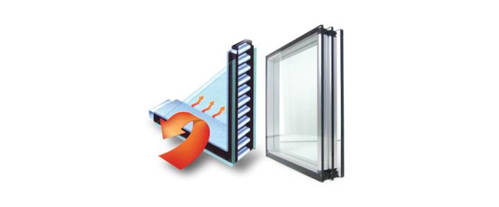 شرکت تولیدکننده پنجره دو سه جداره عایق حرارتی