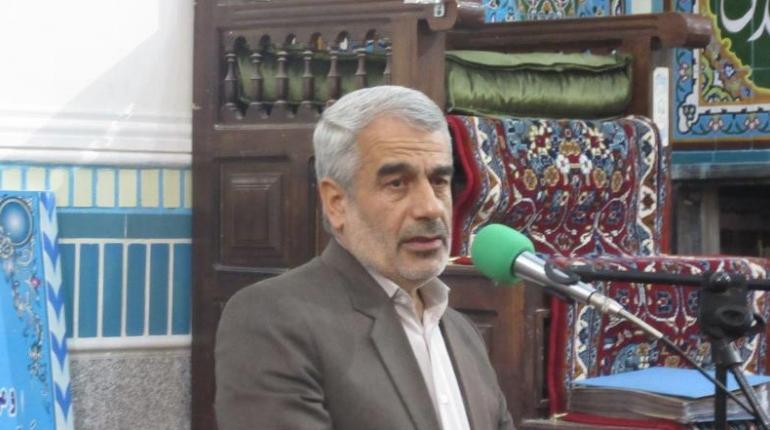 حضور سردار رضایی نماینده محترم مردم شهرستان خمین در مراسم ارتحال امام در مسجد امام خمینی