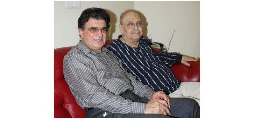 اجرای خصوصی شجریان با کسایی خانه موسوی – آیینه مهر آیین – تولد شجریان ۱ مهر ۵۸