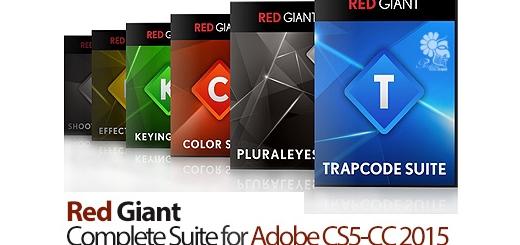 دانلود مجموعه ی تمامی پلاگین های شرکت Red Giant برای افتر افکت و پریمایر - Red Giant Complete Suite for Adobe CS5-CC 2015 25.12.201