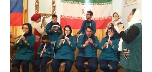 آهنگ نوازی توانخواهان ایرانی و روسی در مسکو