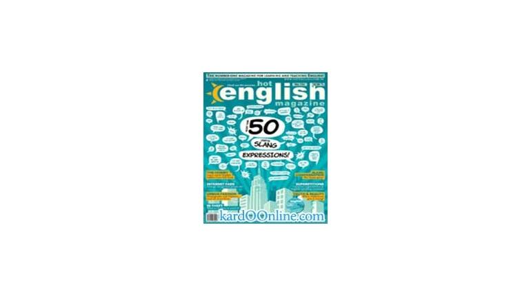 دانلود مجله آموزش انگلیسی Hot English Magazine No.134