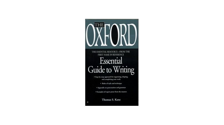 دانلود کتاب Oxford Essential Guide to Writing