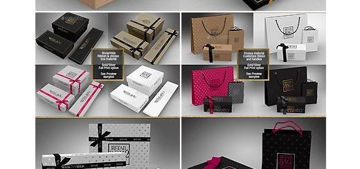 دانلود مجموعه موکاپ لایه باز بسته بندی، باکس و جعبه های متنوع