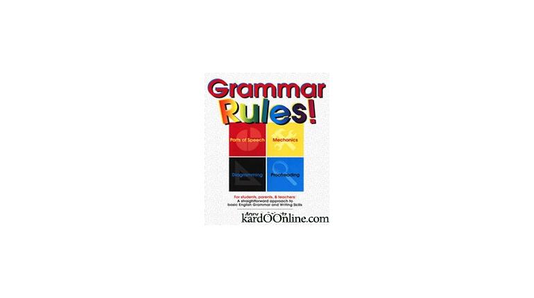 دانلود کتاب قواعد گرامری !Grammar Rules