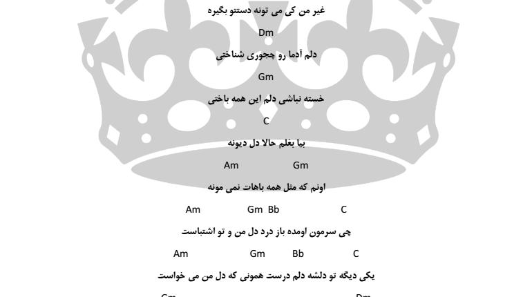 اکورد اشتباه از محمد علیزاده