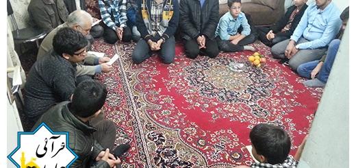 دیدار با خانواده شهید غلامرضا نوروزی به مناسبت دهه فجر ۱۵بهمن۹۴