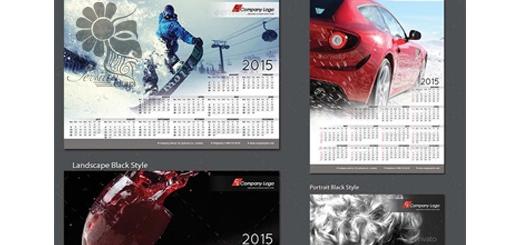 دانلود تصاویر لایه باز قالب ایندیزاین طرح تقویم دیواری 2015