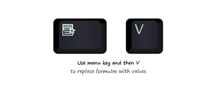 جایگزینی داده به جای فرمول با ترفند بسیار ساده در اکسل