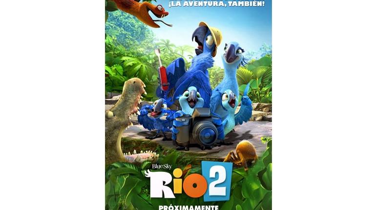 دانلود انیمیشن ریو ۲ – Rio 2 2014 + زبان اصل و زیرنویس
