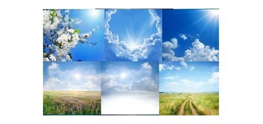دانلود تصاویر با کیفیت آسمان، آسمان ابری، آسمان آفتابی و ...
