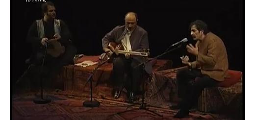 کنسرت تصویری ناظری پیش از دریافت نشان لژیون دونور