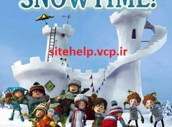 دانلود رایگان انیمیشن جدید برف با کیفیت بلوری Snowtime! 2015