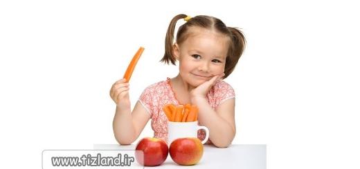 بررسی تغذیه در کودکان